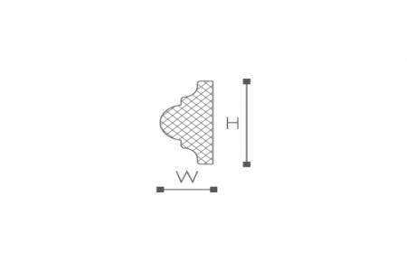 Профили для отделки стен Z10