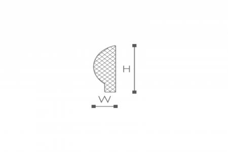 Профили для отделки стен SP1