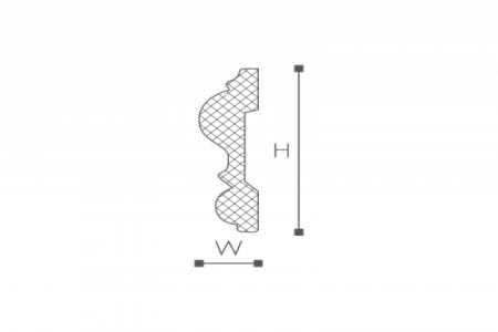 Профили для отделки стен Z13
