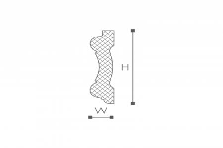 Профили для отделки стен Z1550